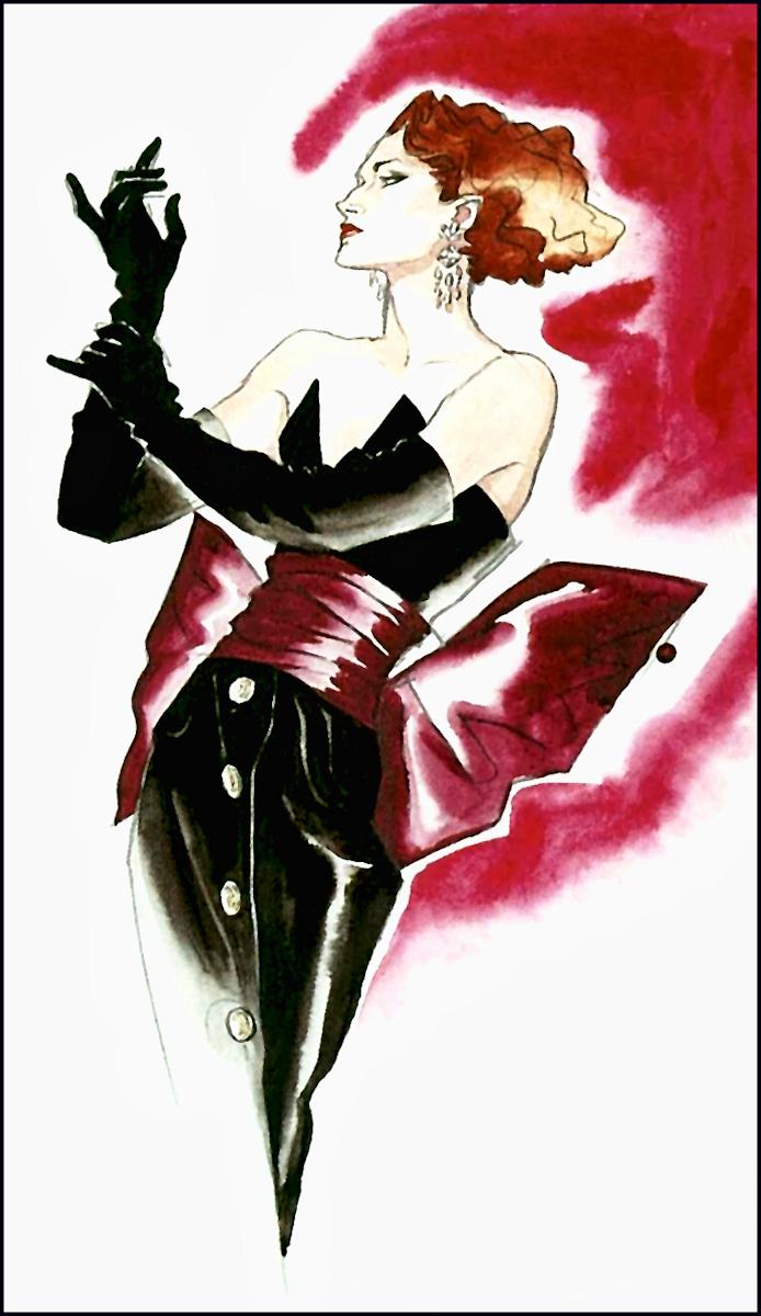 Antonio lopez fashion illustrations 54